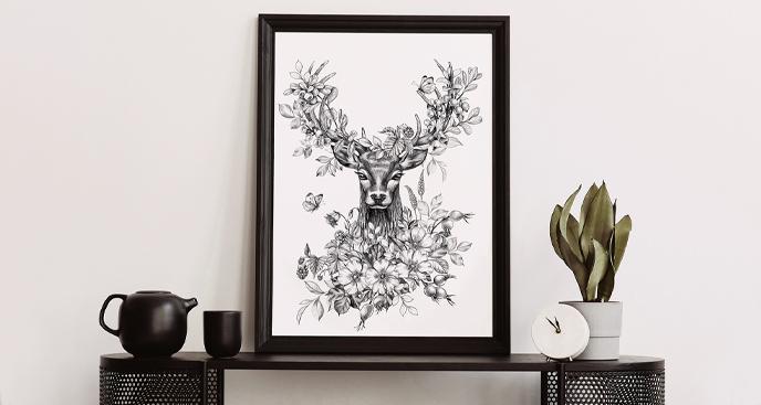 Plakat natura do salonu