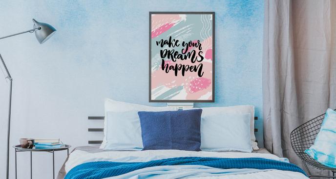 Plakat do pokoju nastolatka