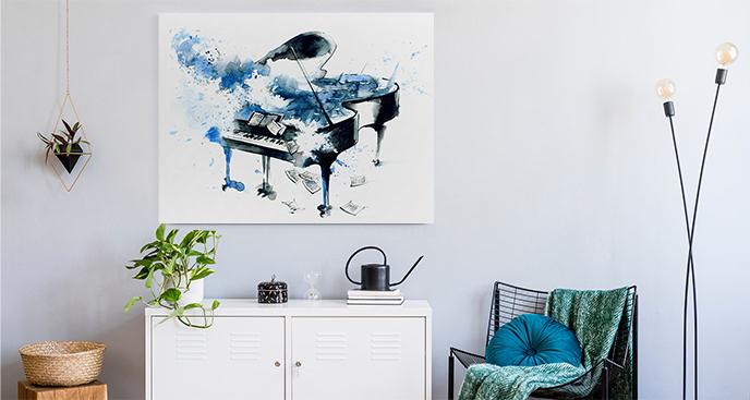 Muzyczny obraz do przedpokoju