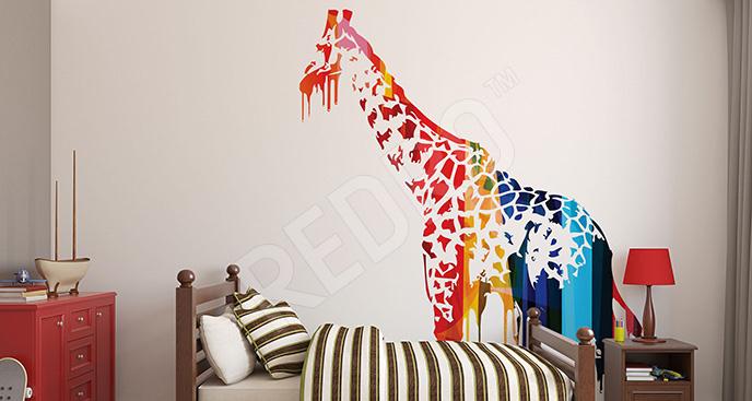 Naklejka abstrakcyjne zwierzę