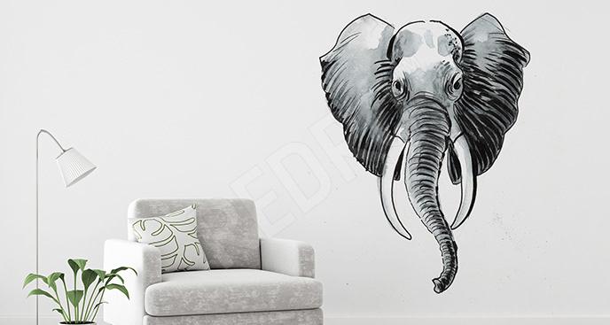 Naklejka afrykańskie zwierzę