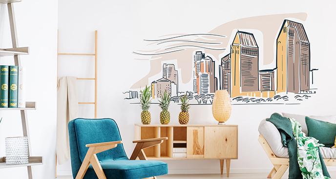 Naklejka architektura San Diego