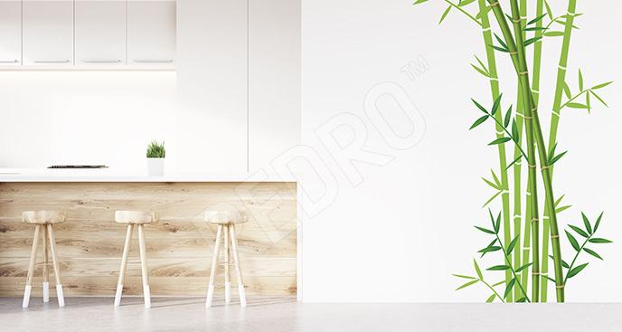 Naklejka bambus do kuchni
