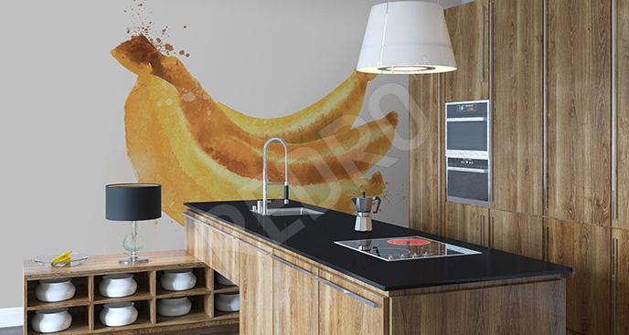 Naklejka banany do kuchni