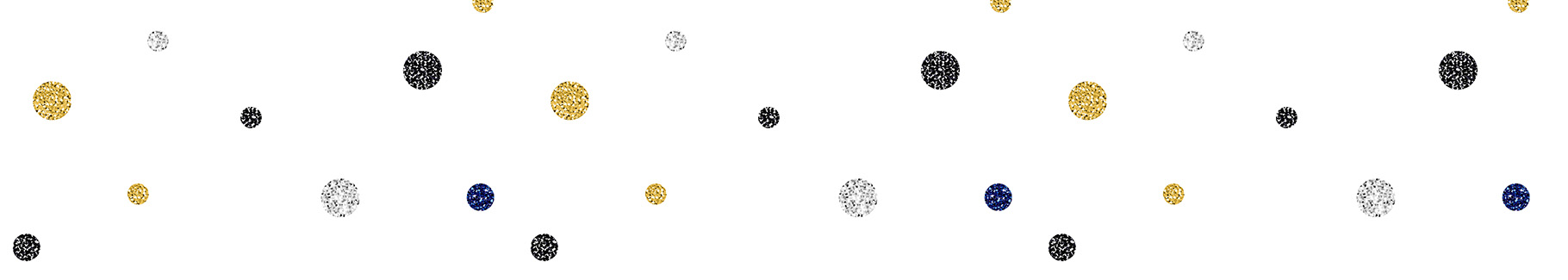 Naklejka diamentowe kropki