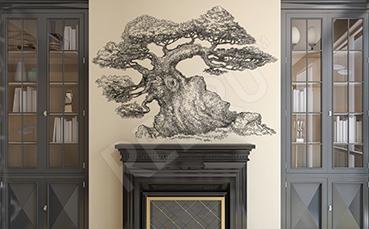 Naklejka drzewo do klasycznego wnętrza
