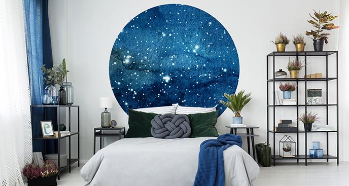 Naklejka gwieździste niebo do sypialni