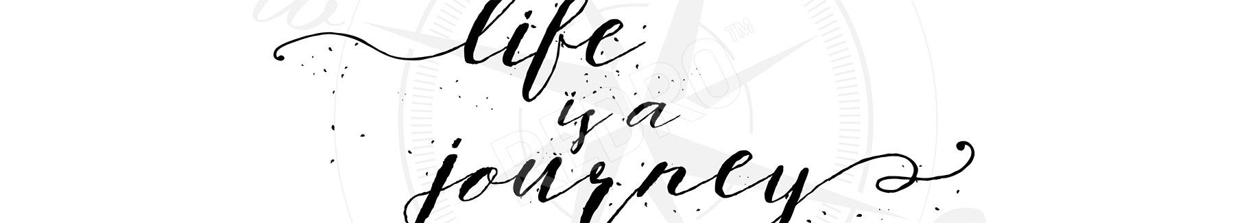 Naklejka inspirujący cytat