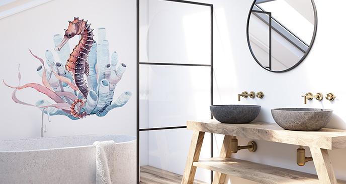 Naklejka konik morski