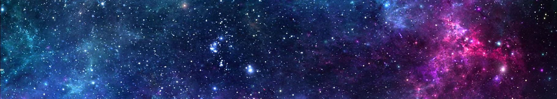 Naklejka kosmos i gwiazdy