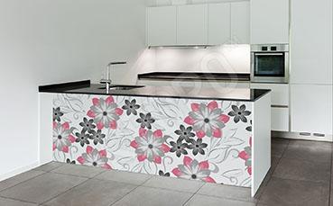 Naklejka kwiaty do kuchni