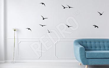 Naklejka lecące ptaki
