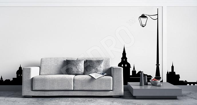 Naklejka miejski minimalizm