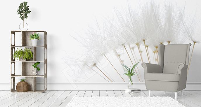Naklejka minimalistyczne dmuchawce