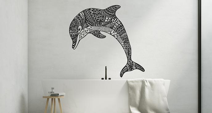 Naklejka morskie zwierzę