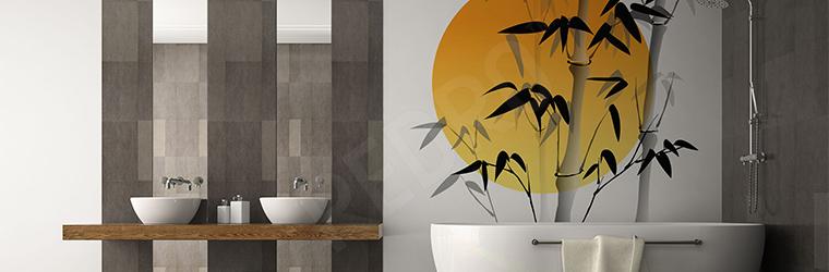 Naklejka motyw bambusa