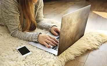 Naklejka na laptopa tekstura