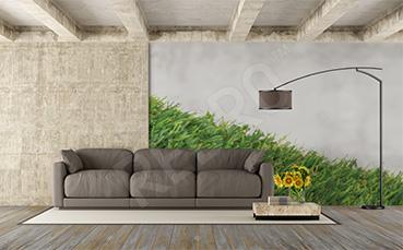 Naklejka na ścianę murawa