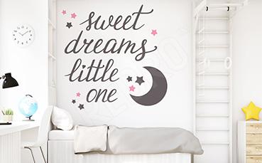 Naklejka napisy na dobranoc