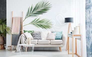Naklejka palmowe liście