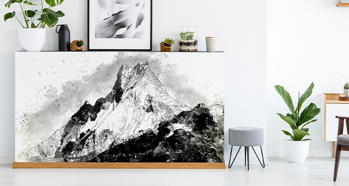 Naklejka pasmo górskie