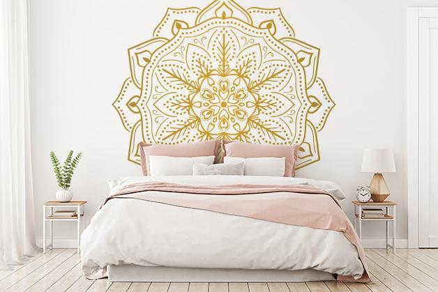 Naklejka - Piękny wzór koronki