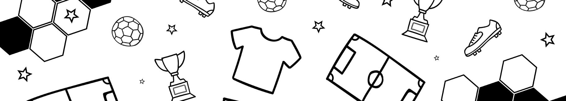 Naklejka piłka nożna i symbole