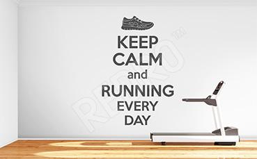Naklejka sportowa bieganie