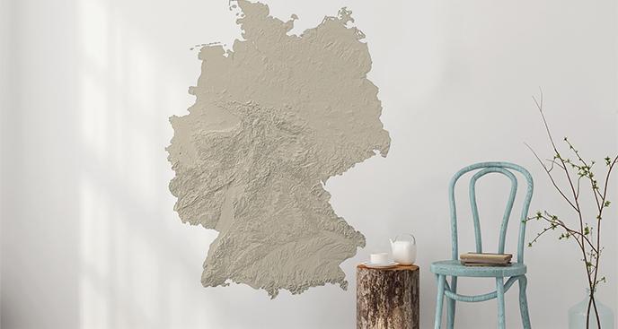 Naklejka terytorium Niemiec