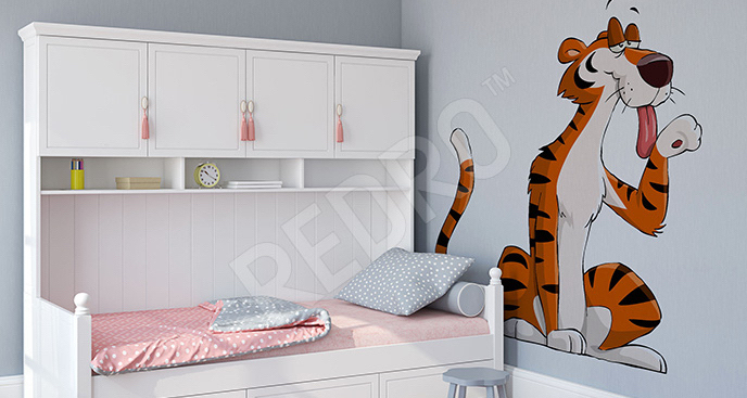 Naklejka tygrysek dla dzieci