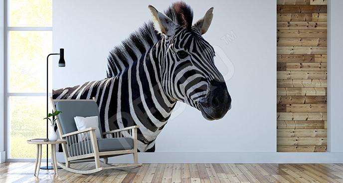Naklejka zebra 3D