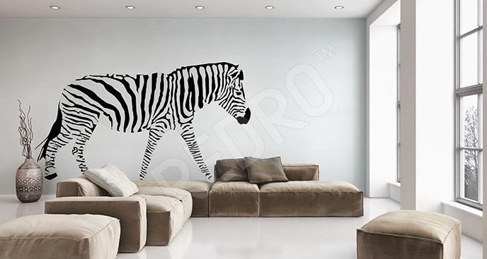 Naklejka zebra afrykańska