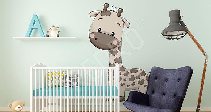 Naklejka żyrafa dla dzieci