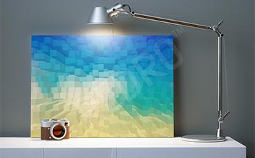 Obraz 3D na ścianę do biura