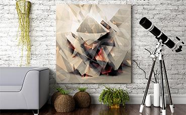Obraz 3D nowoczesny do salonu