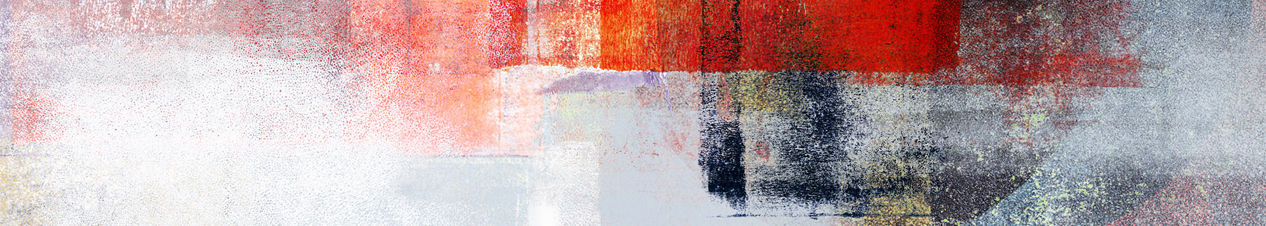 Obraz abstrakcja i czerwień