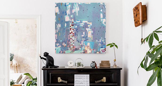 Obraz abstrakcyjna kompozycja