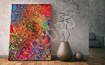 Obraz abstrakcyjne wzory