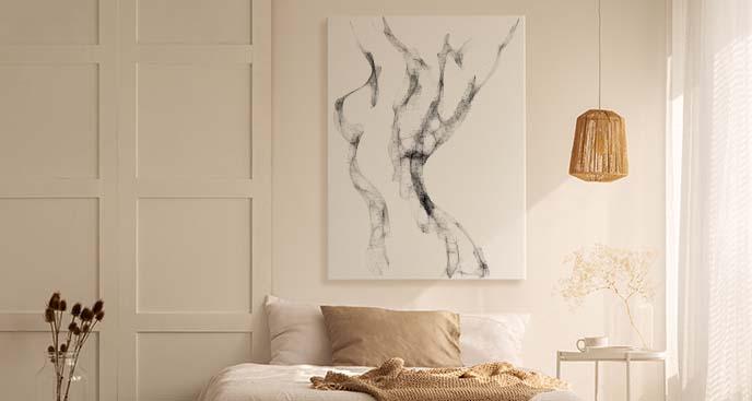 Obraz akt minimalistyczny