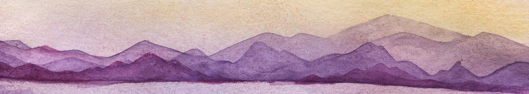 Obraz akwarela w pastelach