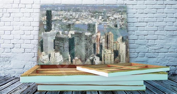 Obraz akwarelowy Manhattan