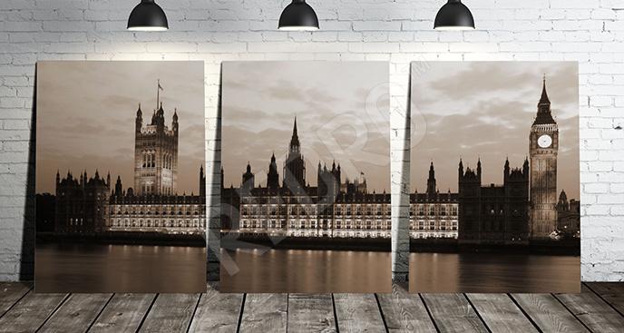 Obraz architektura Londynu