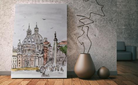 Obraz architektura Rzymu