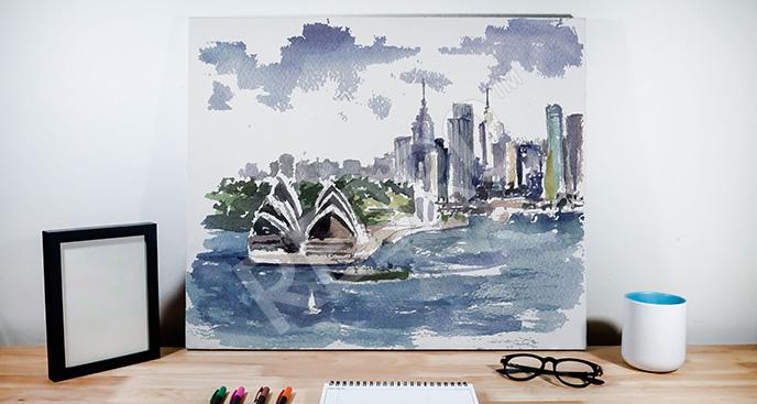 Obraz Australia akwarela