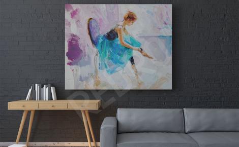 Obraz baletnica do salonu