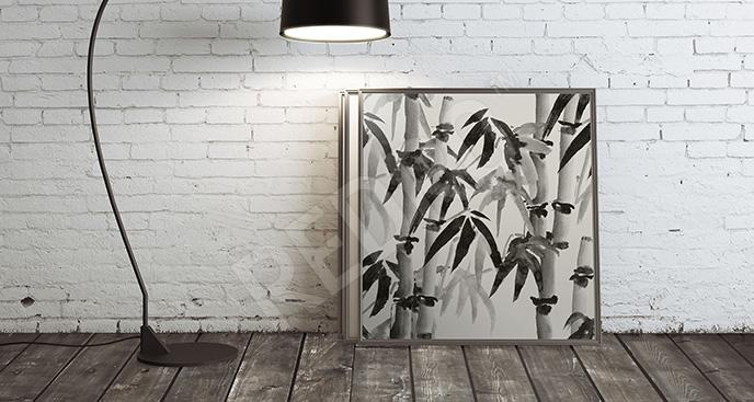 Obraz bambus - styl minimal