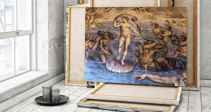 Obraz barok do pracowni artystycznej