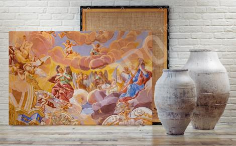 Obraz barok do salonu