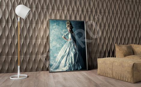 Obraz barokowy z kobietą