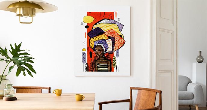 Obraz barwna ilustracja